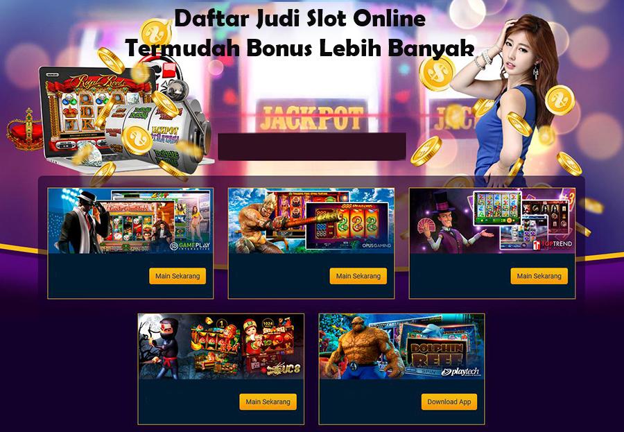 Situs Judi Slot Online Lebih Terpercaya Dibanding Slot Darat